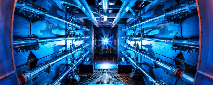 Imagem de um reator de Fusão Nuclear que poderá produzir Energia limpa
