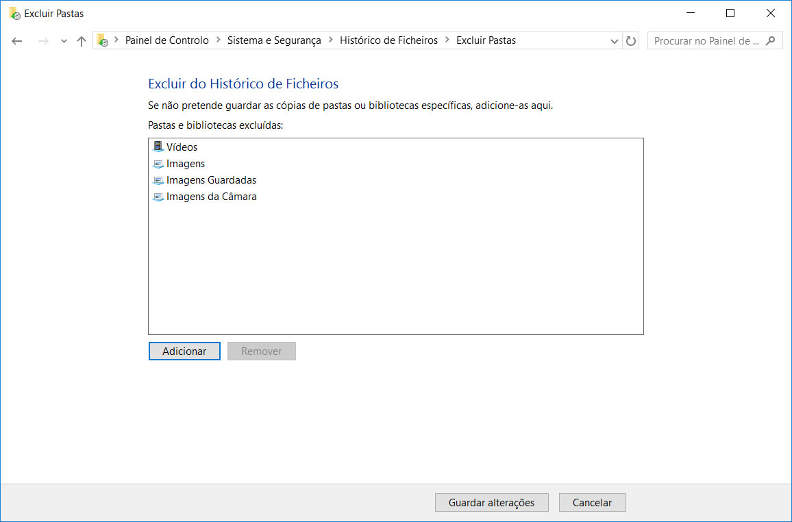 2996fcd405220 De seguida, com tudo pronto, poderá ativar o Histórico de ficheiros.
