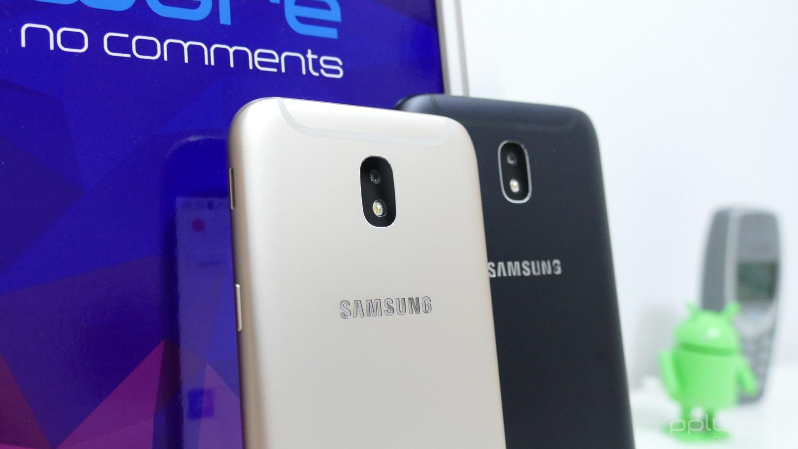 2309d4e1f4 Os Samsung Galaxy J5 e J7 foram apresentados pela marca no passado mês de  junho como sucessores da linha apresentada no ano anterior. Estes modelos  ...