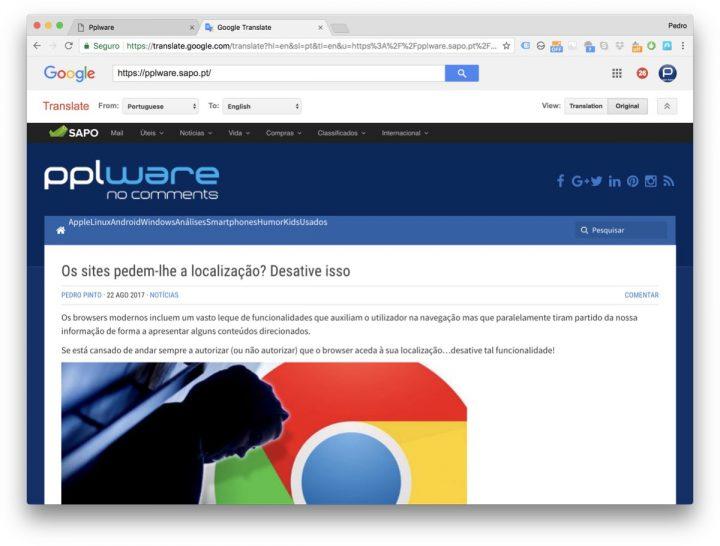 Google Translate Internet