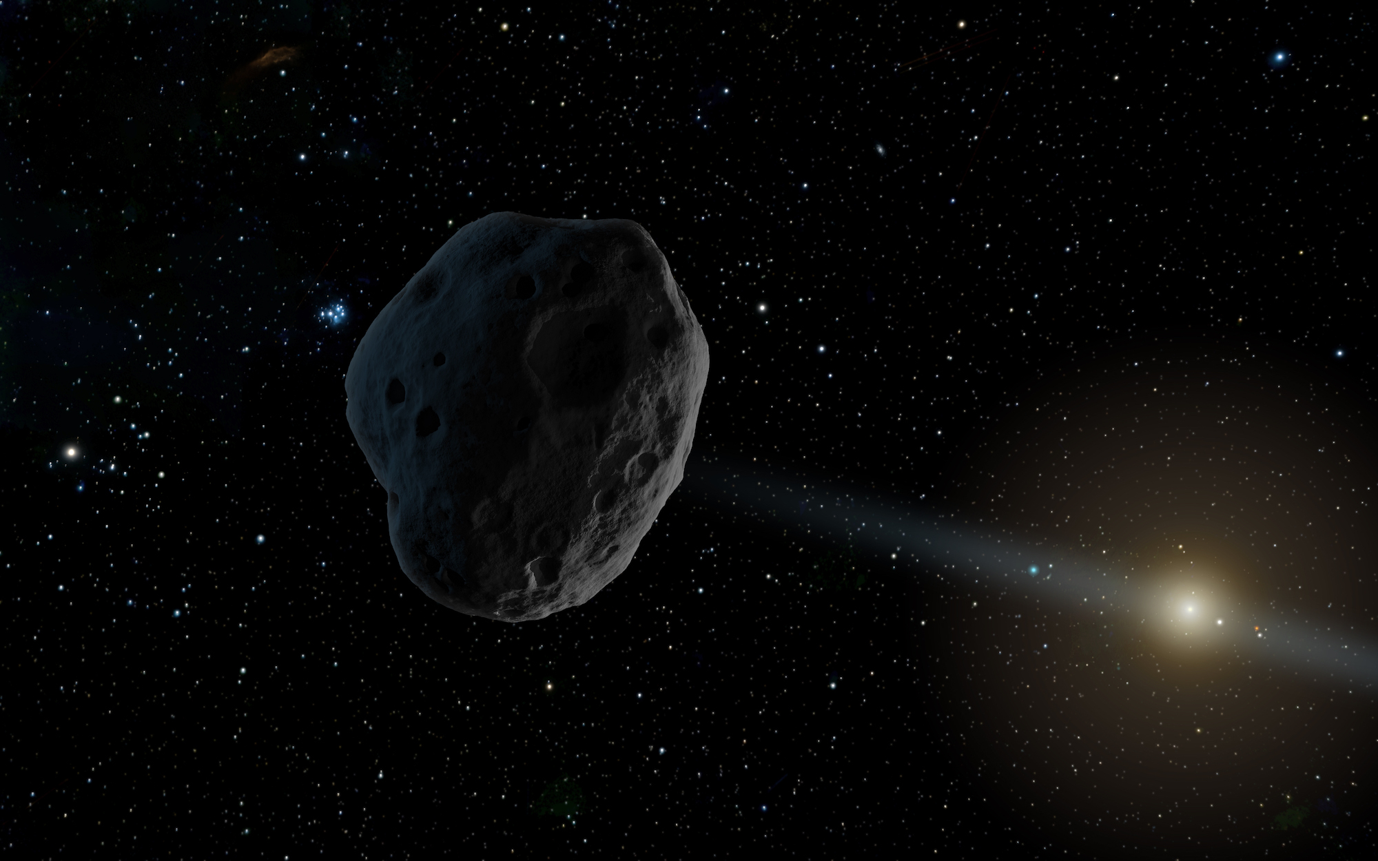 Grande asteróide passa perto da Terra dia 1 de setembro