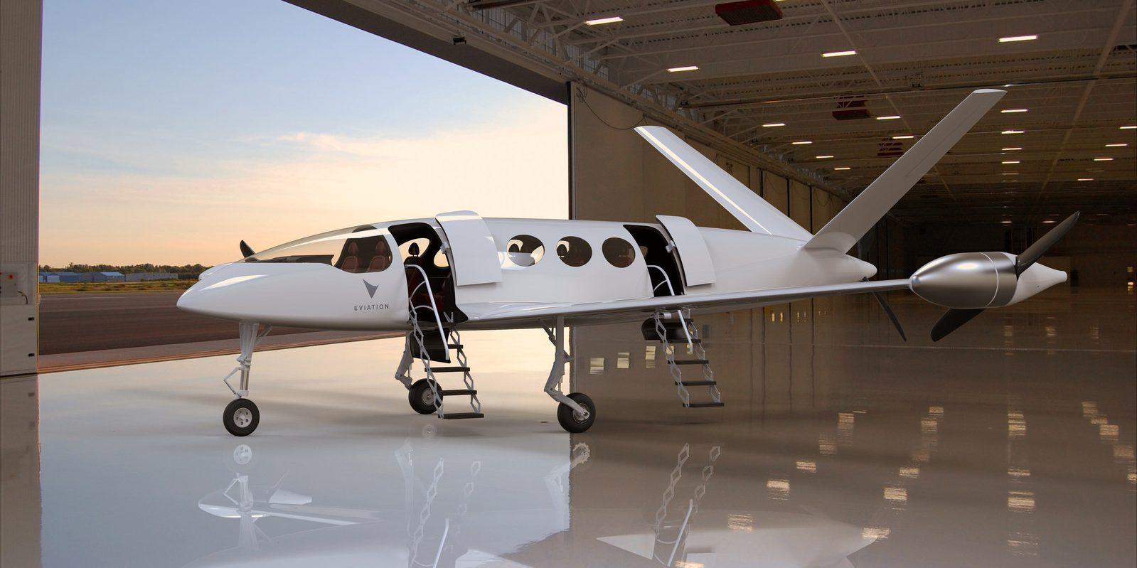 Avião totalmente elétrico pode voar 965 km com uma única carga