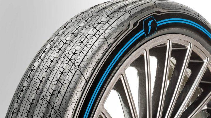 Representação pneu Goodyear