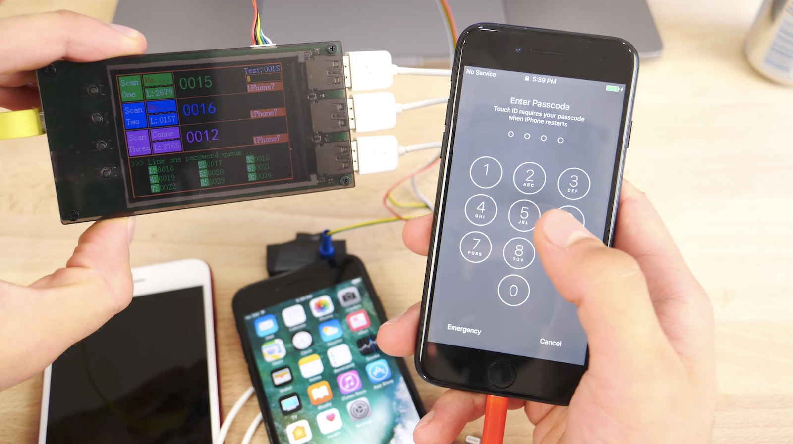 iPhone 5s Touch ID hack in detail