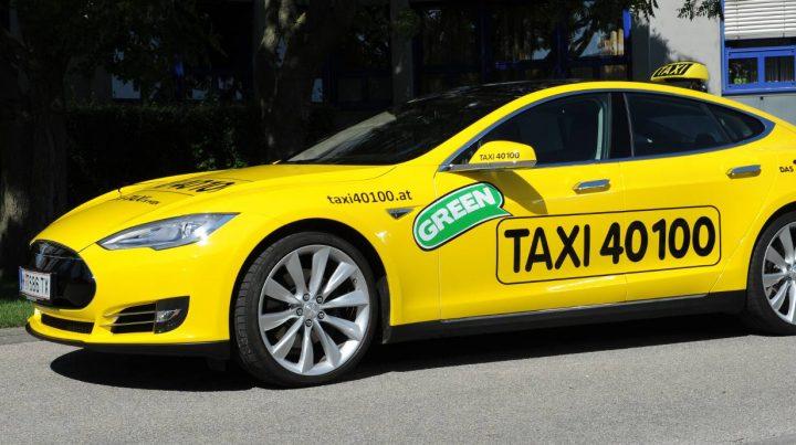 Munique táxis elétricos