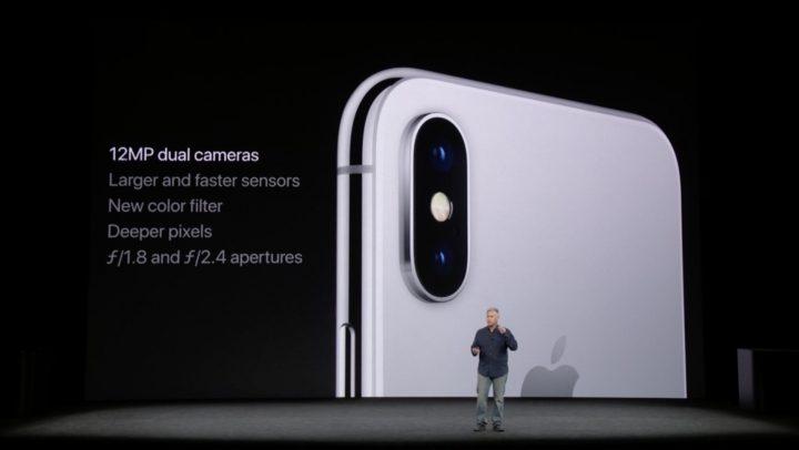 iPhone X - camaras