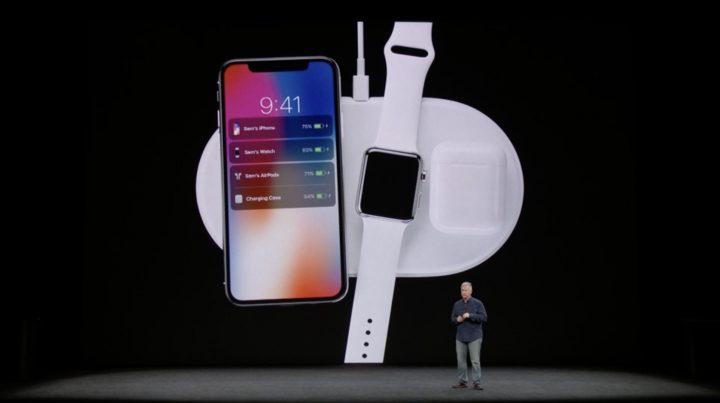 iPhone X - carregamento sem fios