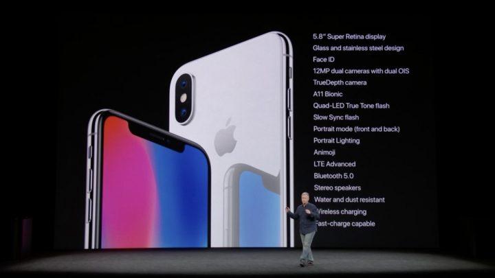 iPhone x - resumo caracteristicas