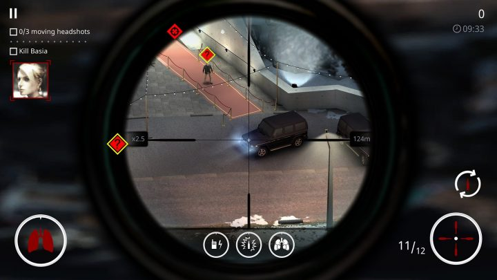Screenshot ao Hitman Sniper