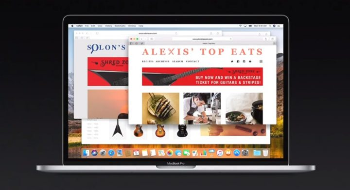 Publicidade online - safari