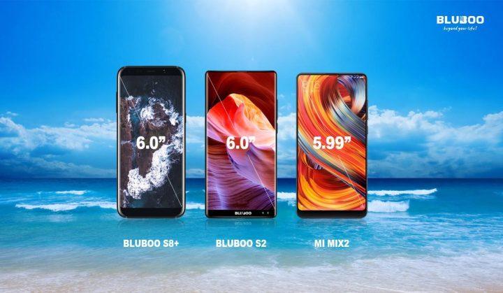 Bluboo S2 e S8+