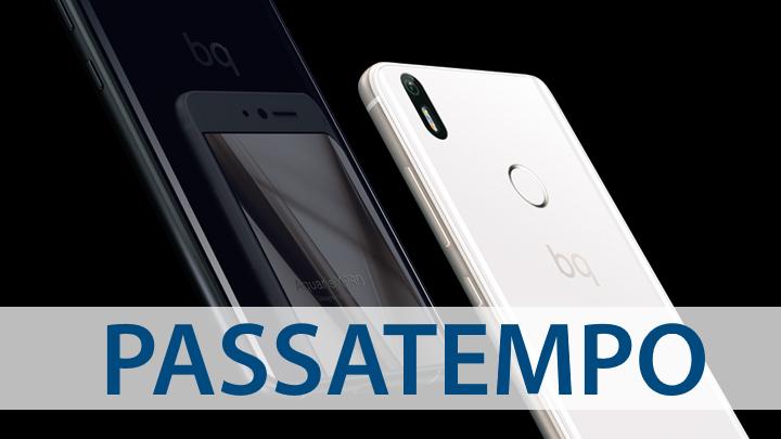 Passatempo - BQ Aquaris X Pro