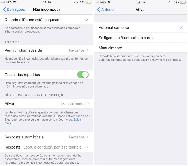 iOS 11 no iPhone