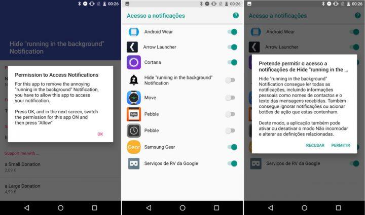 Notificações Android Oreo