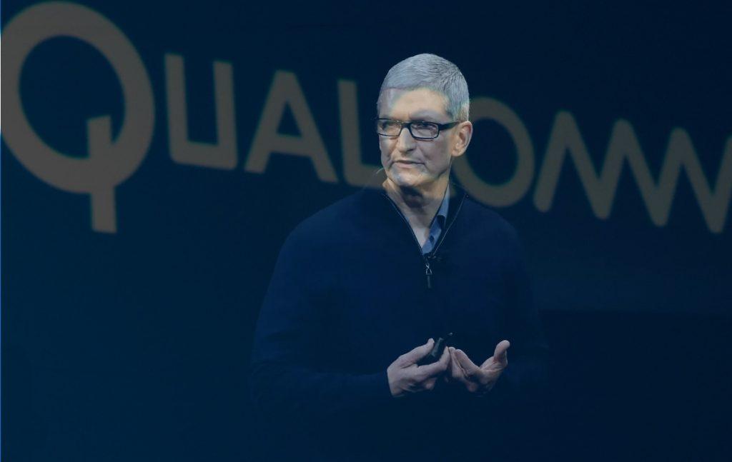 Imagem Qualcomm versus Apple