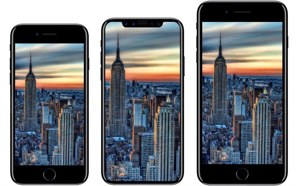 Imagem do possível novo iPhone 8