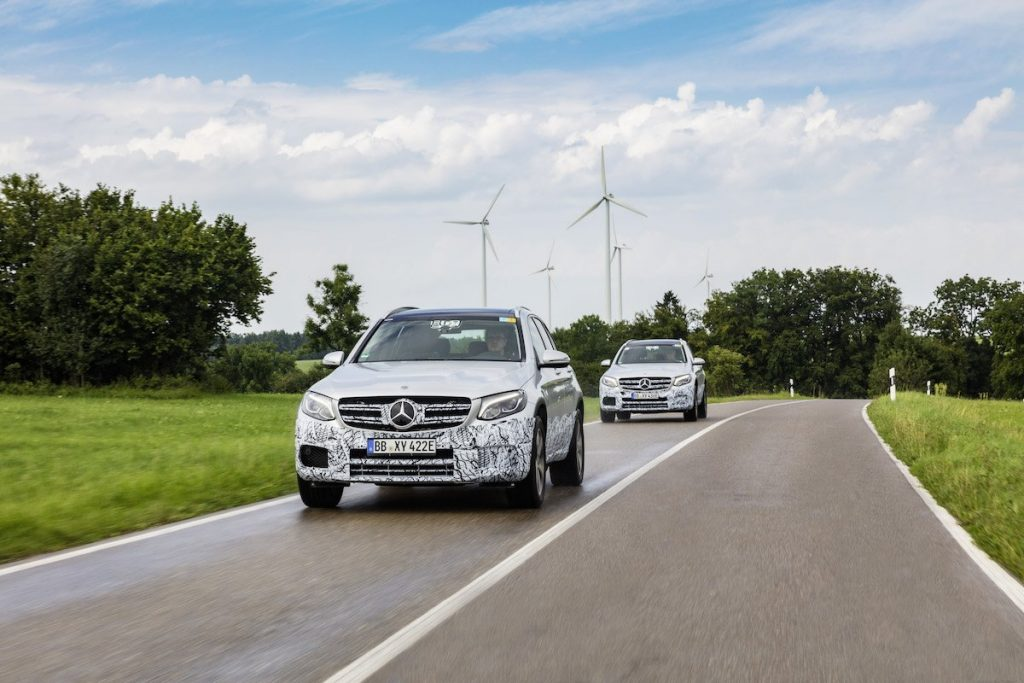 Imagem do Mercedes GLC F-Cell