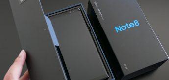 Note 8 - box