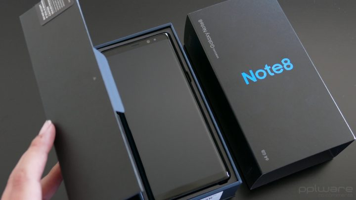 samsung Note8 - box