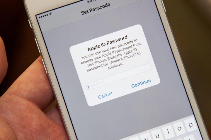 notificação Apple ID