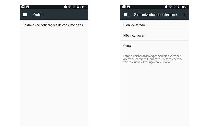 controlo de notificações Android - 2 e 3