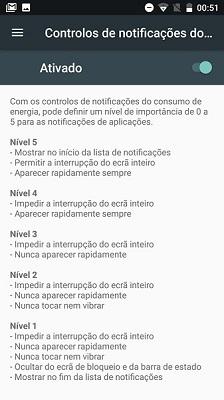 controlo de notificações Android - 4