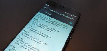 controlo notificações android