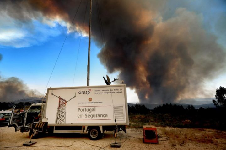 Alertas de incêndio serão emitidos para o telemóvel
