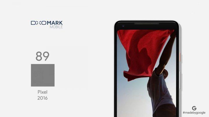 google Pixel 2 camera dxomark