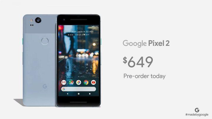 google Pixel 2 preco