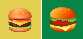 hamburguer apple google