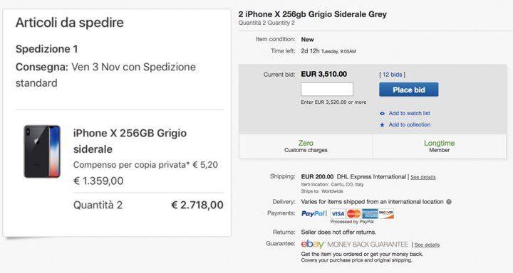 iPhone X eBay