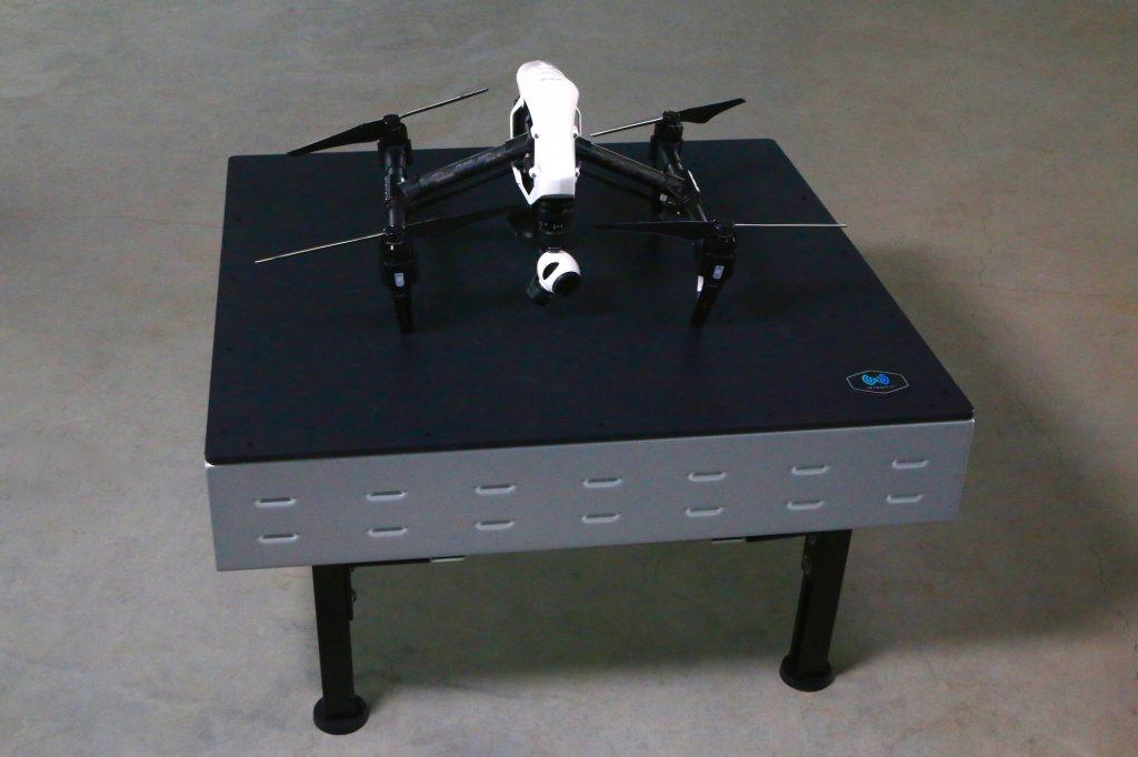 Base de carregamento sem fios para drones