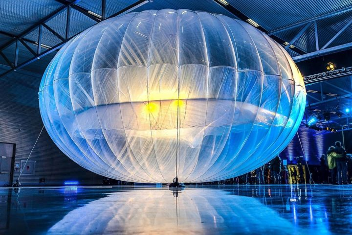 balões projeto Loon