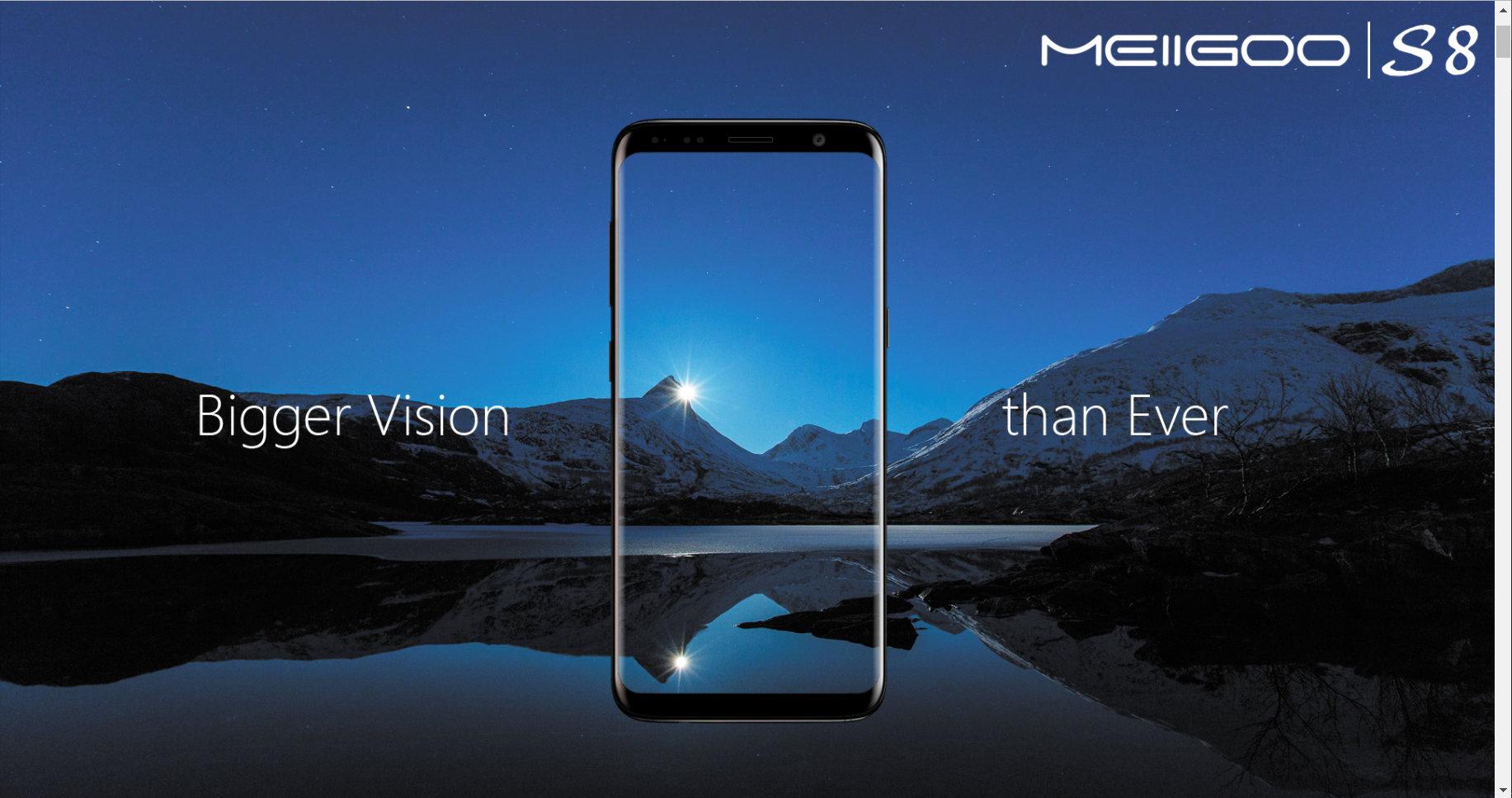 Meiigoo S8 – smartphones cada vez melhores… e mais baratos