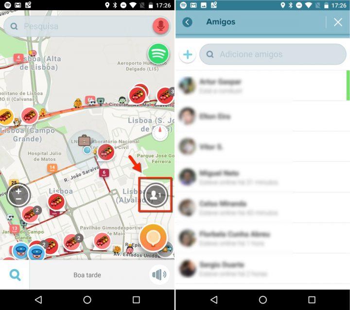 Android Waze