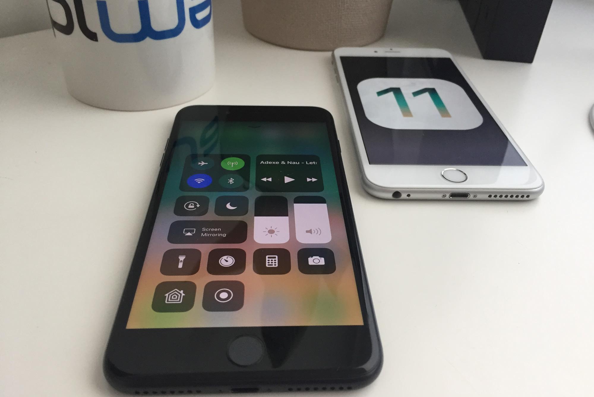 91b0b91dcfe Adoção do iOS 11 mais baixa em relação aos últimos anos