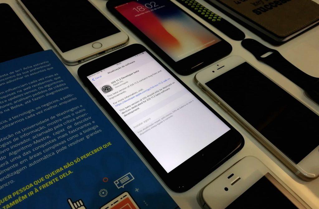 Apple lançou beta do iOS 11.2 beta