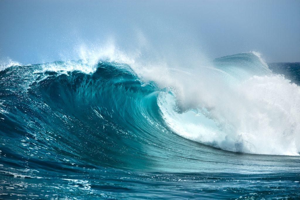 Imagem água do mar