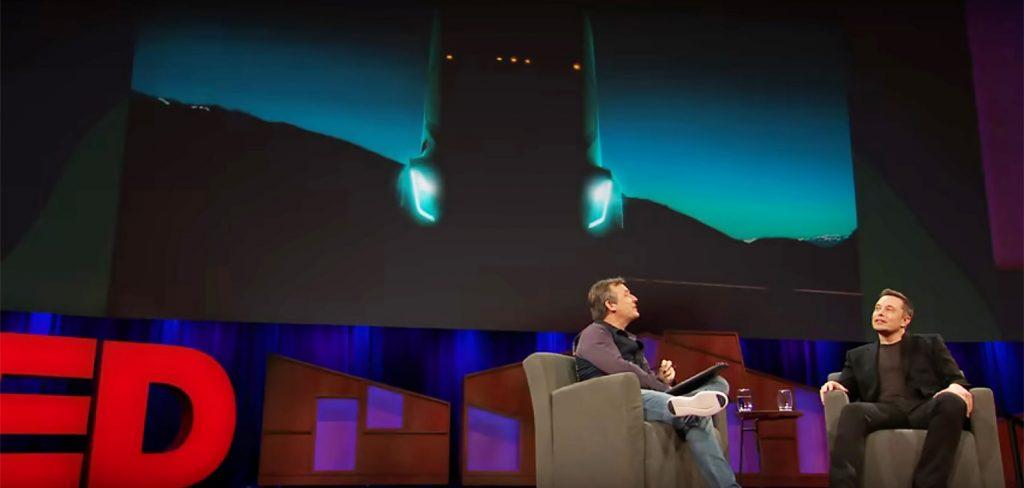 Musk a falar do camião Tesla