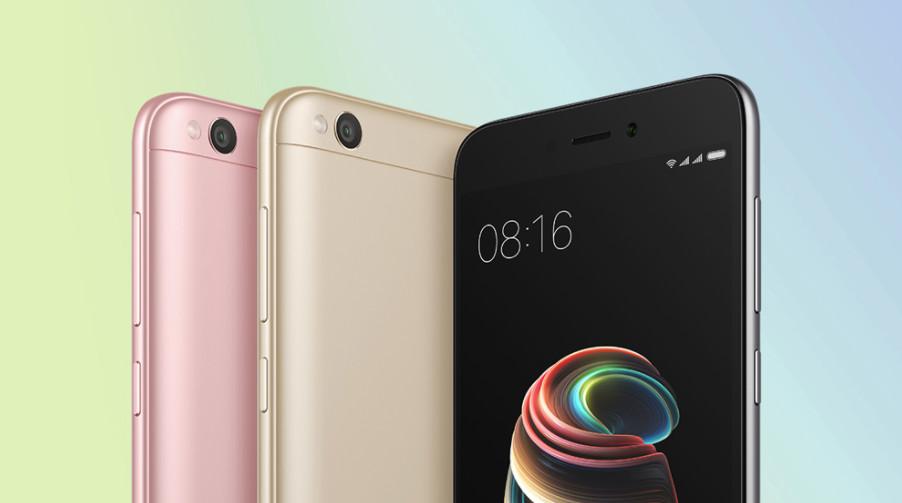 Redmi 5A – o novo Xiaomi de baixo custo