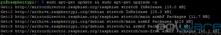 Magic Mirror Raspbian update