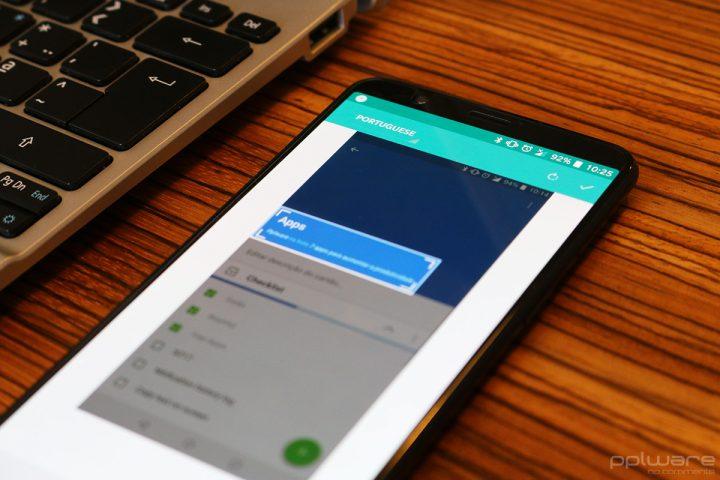 aplicações de produtividade Android - pplware 5 - copy text