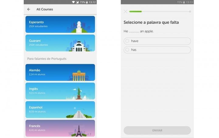 duolingo - app para procurar emprego
