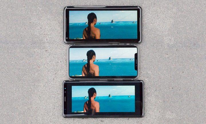 iphone x saturação