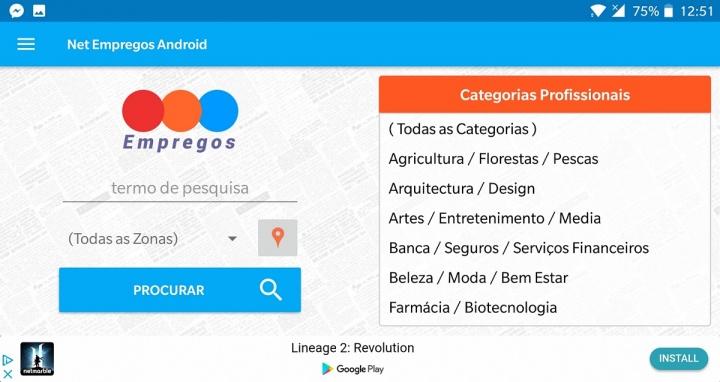 net empregos - app para procurar emprego