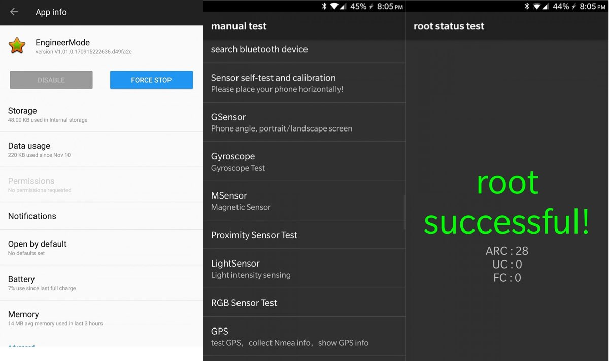 Oneplus deixou instalada app que faz root nos seus for Terr root word