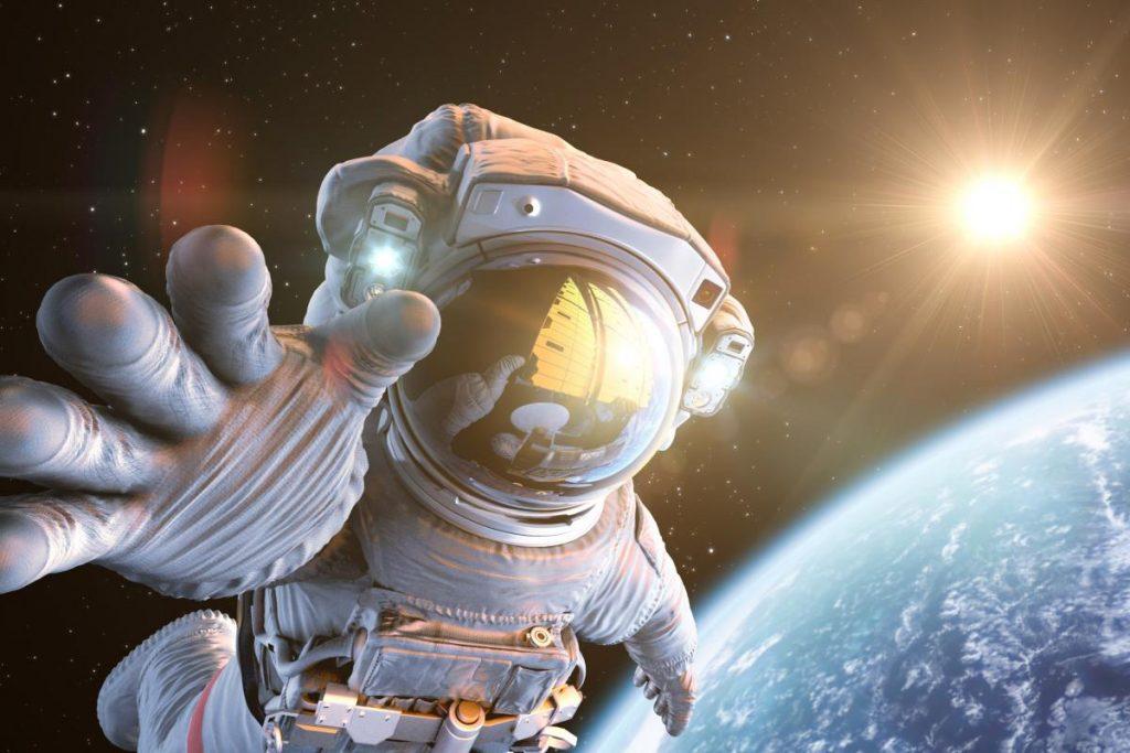 Imagem do humano no espaço