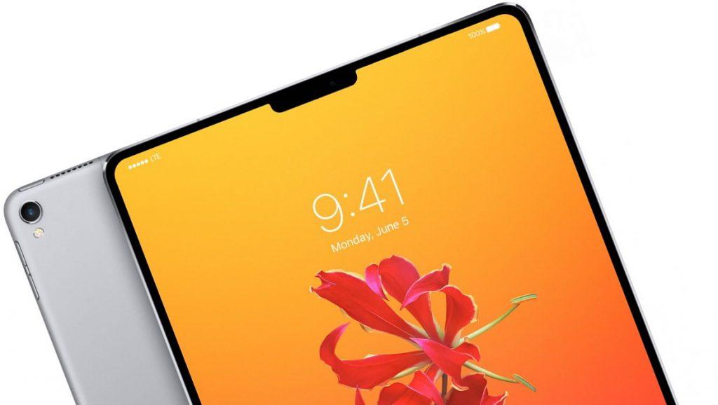 Possível imagem do iPad Pro 2018