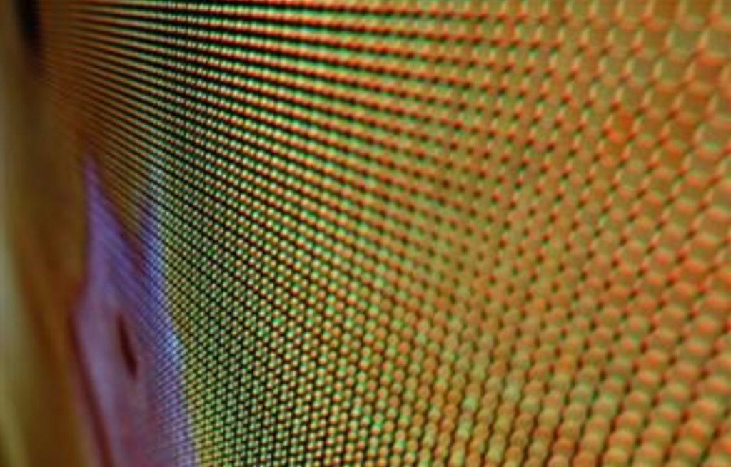 Imagem do MicroLED